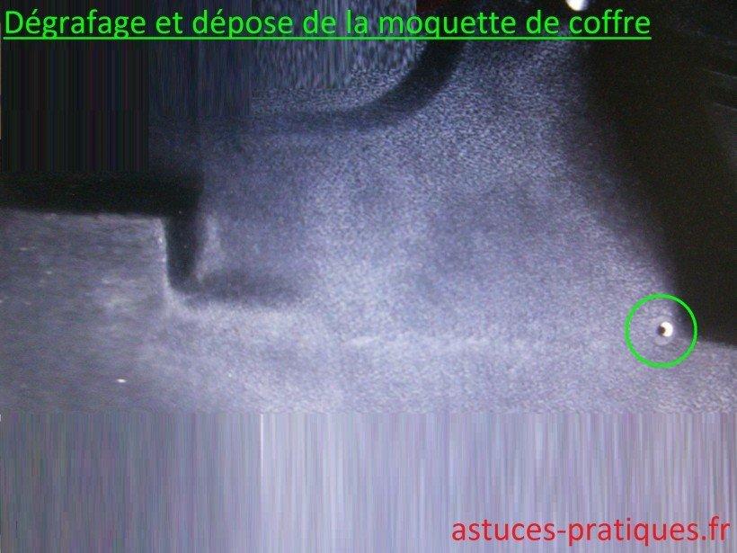 Désagrafage / Dépose moquette
