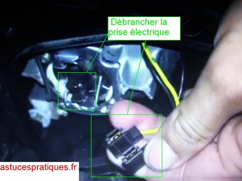 Débrancher prise électrique