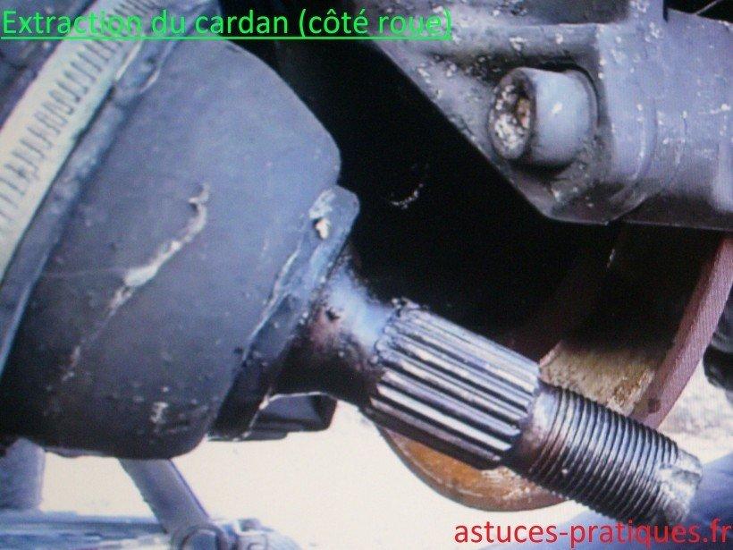 Extraction cardan