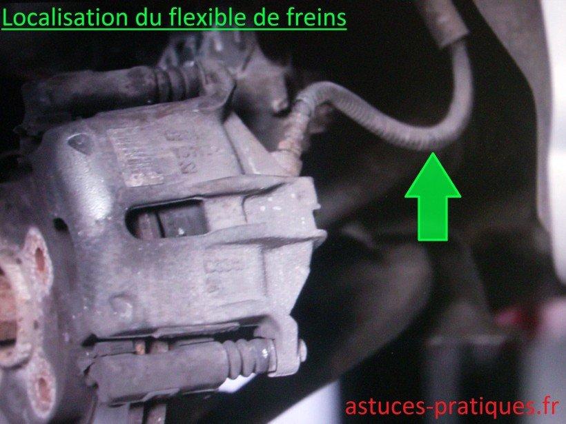 Localisation flexible de freins
