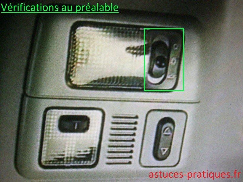 Vérifications au préalable
