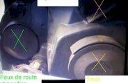 Changer ampoules phares avant sur Clio 2 (Phase 2)