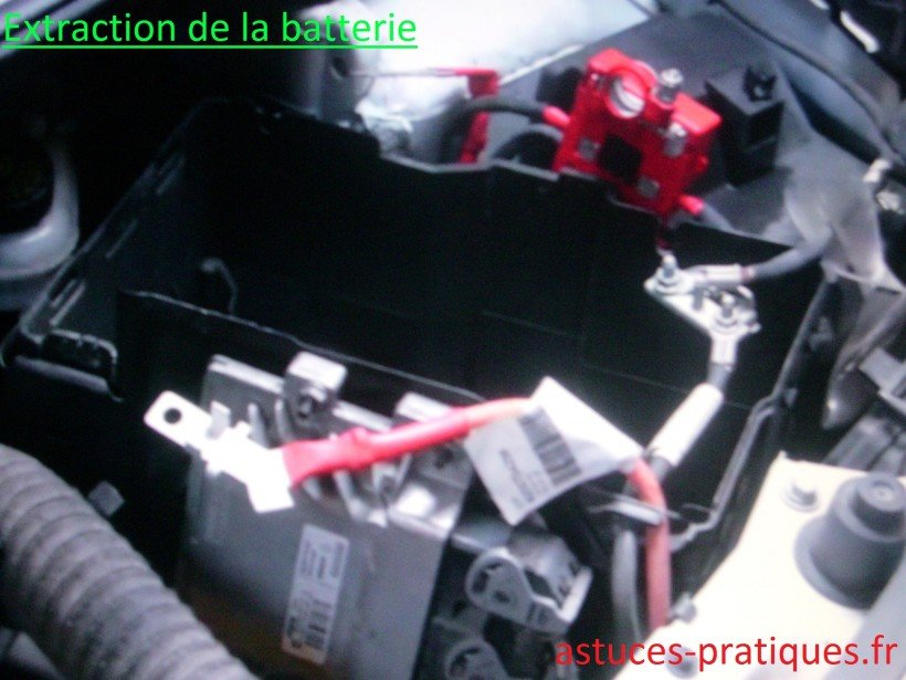Extraction de la batterie