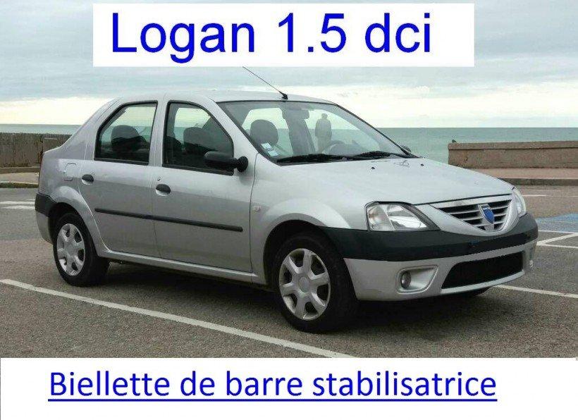 Changer biellettes de barre stabilisatrice sur Logan 1