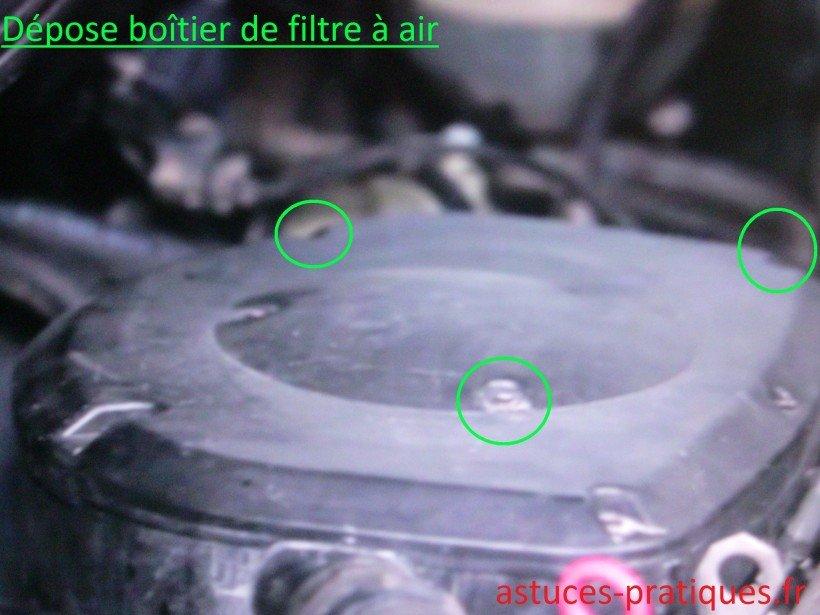 Boîtier de filtre à air