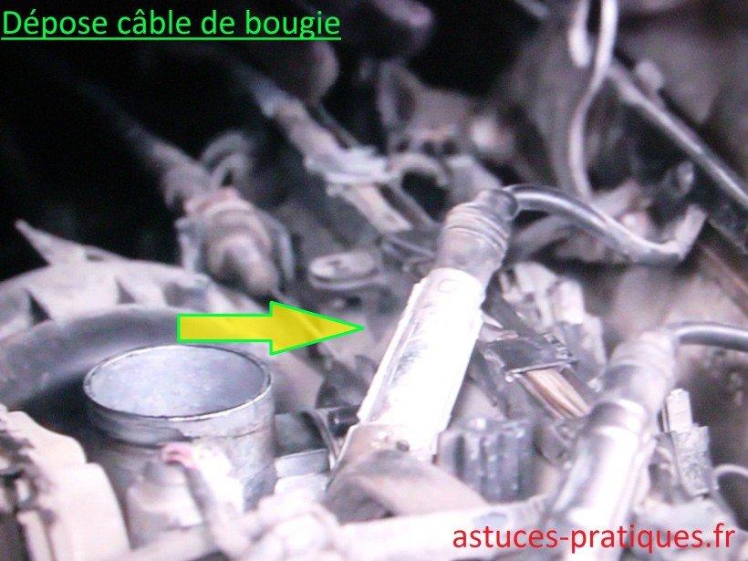 Câble de bougie