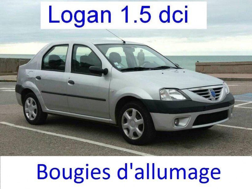 Changer bougies d'allumage sur Logan 1 (essence)