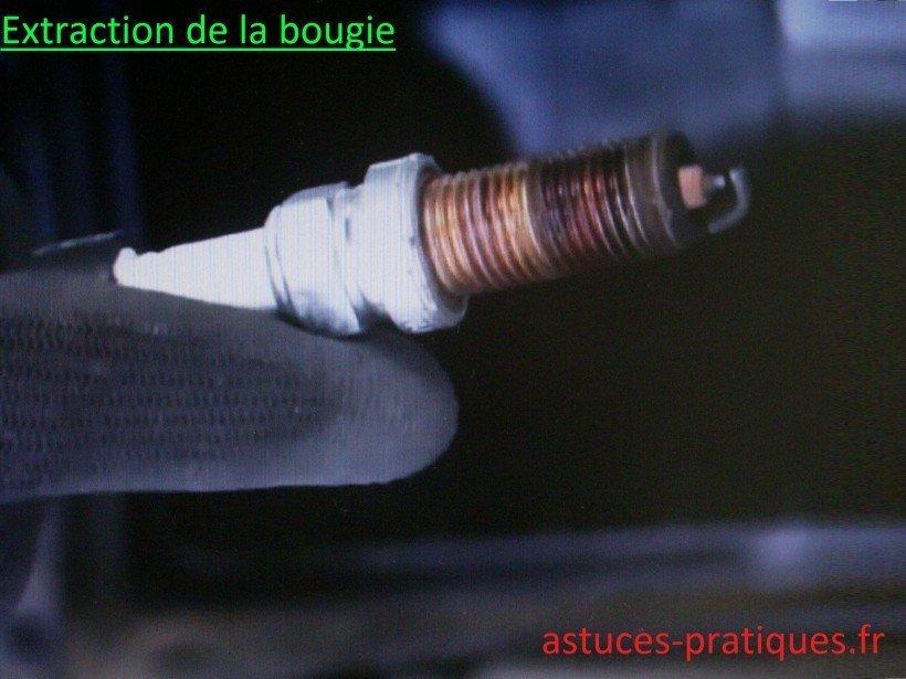 Extraction de la bougie