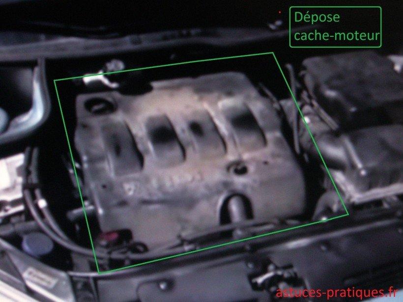 Dépose du cache-moteur