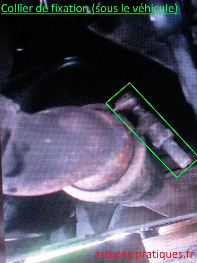 Collier de fixation (sous véhicule)