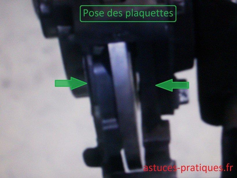 Pose plaquettes neuves