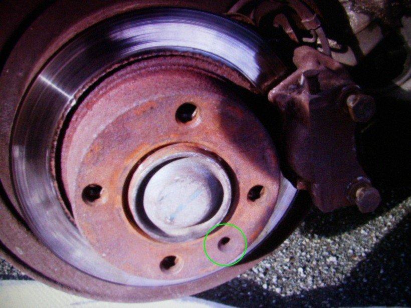 Dépose disque de frein