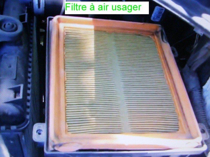 Dépose boîtier filtre à air