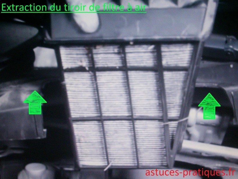Extraction du tiroir