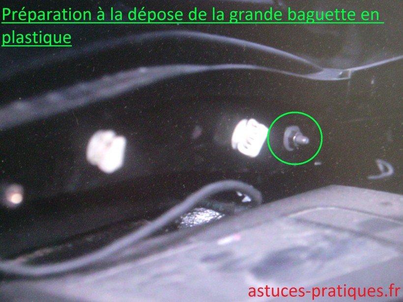 Baguette plastique