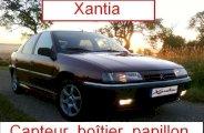 Changer le capteur de position du boîtier papillon sur Xantia 1.8i