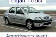 Changer les amortisseurs avant sur Logan (Dacia)