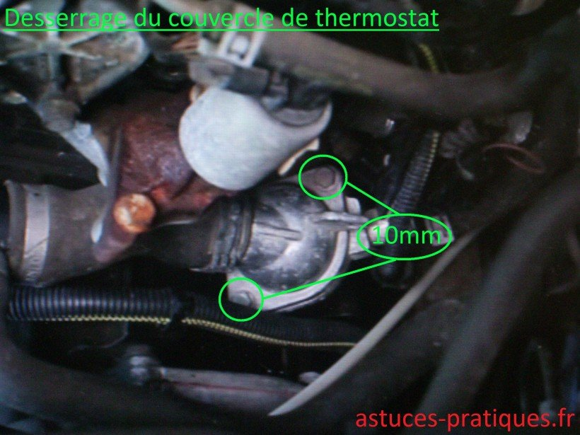 Couvercle de thermostat