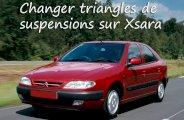 comment changer triangles de suspensions sur xsara