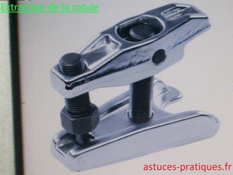 Extraction de la rotule