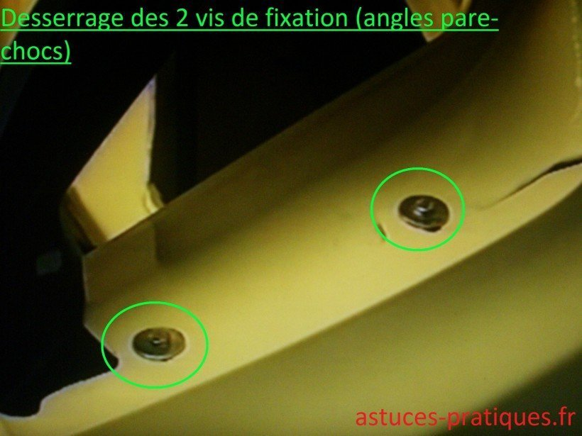 Fixations d'angles