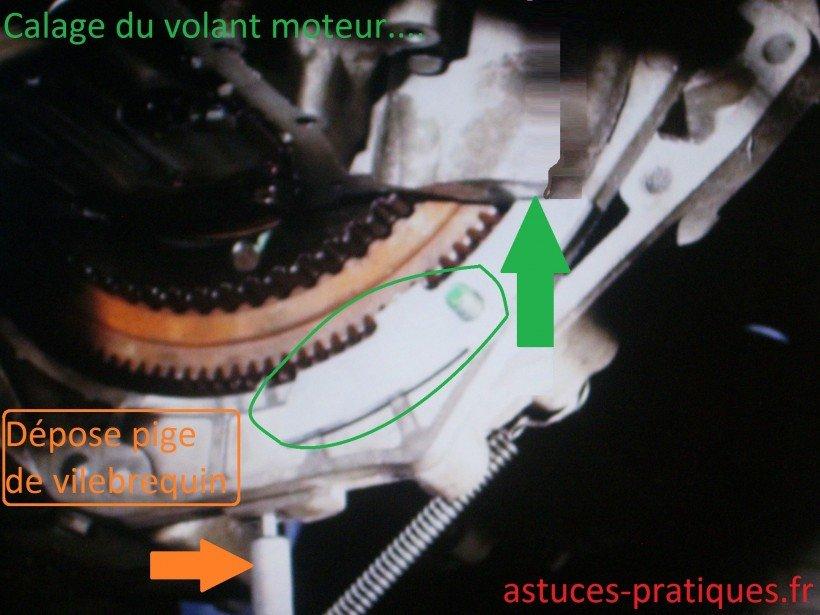 Calage volant moteur