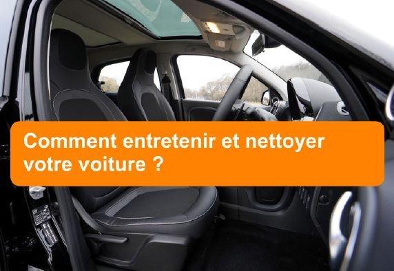 nettoyage de votre voiture
