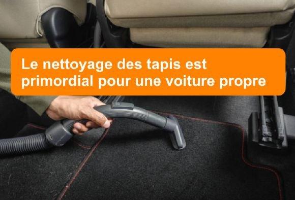 nettoyage voiture tapis de sol