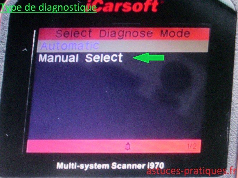 Type de diagnostique
