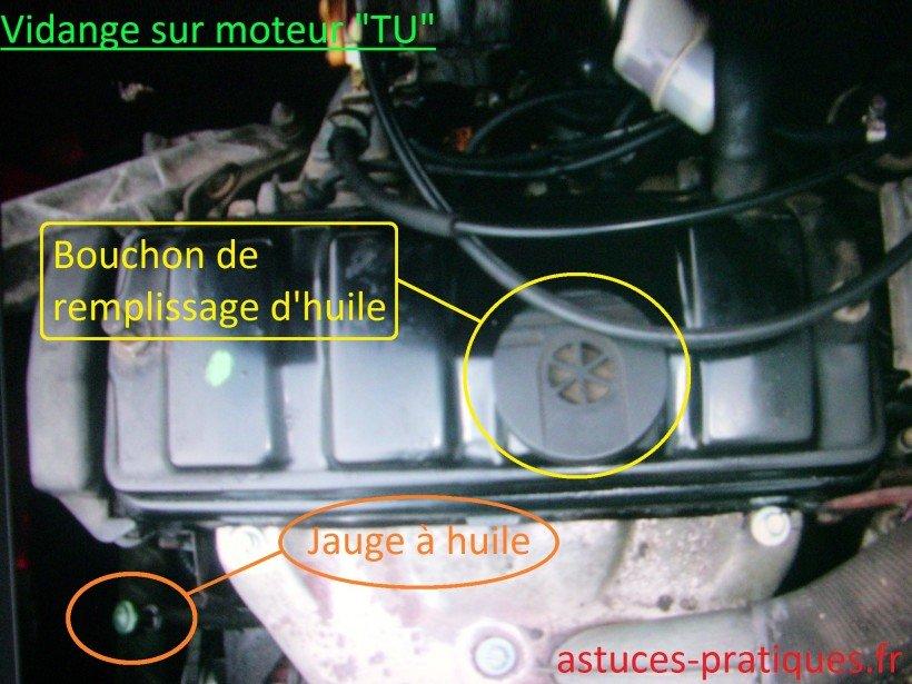 Vidange moteur
