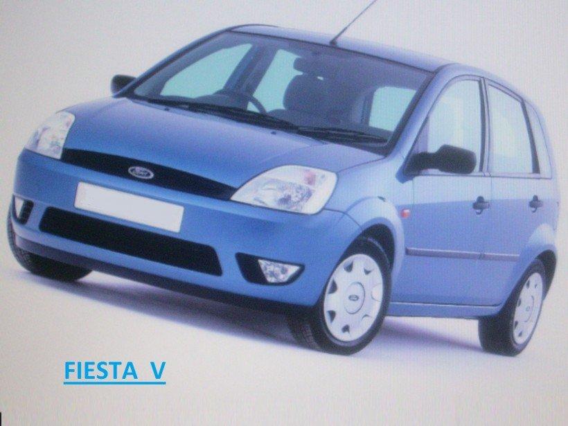 Filtre à air sur Fiesta V