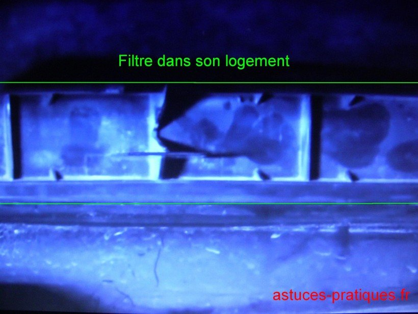 Dépose / Repose filtre habitacle