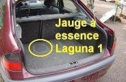 Jauge à essence Laguna 1 : déconnexion
