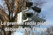 Le premier radar piéton débarque en France
