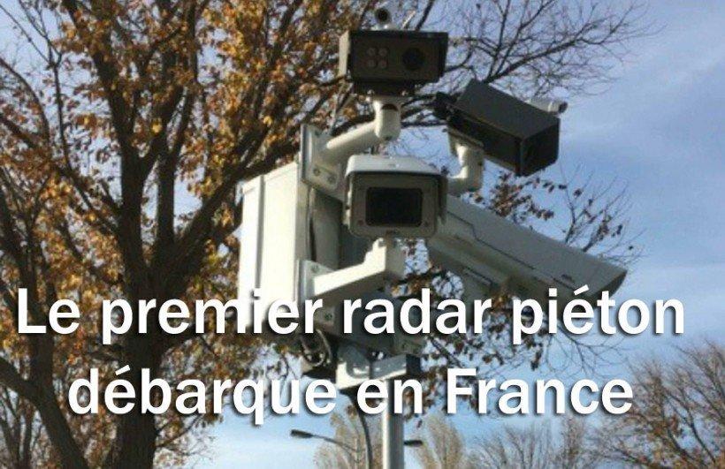 radar piéton france