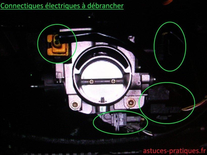 Connectiques électriques à débrancher