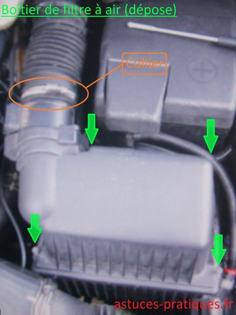 Nettoyer le débitmètre d'air sur C4 hdi - Astuces Pratiques
