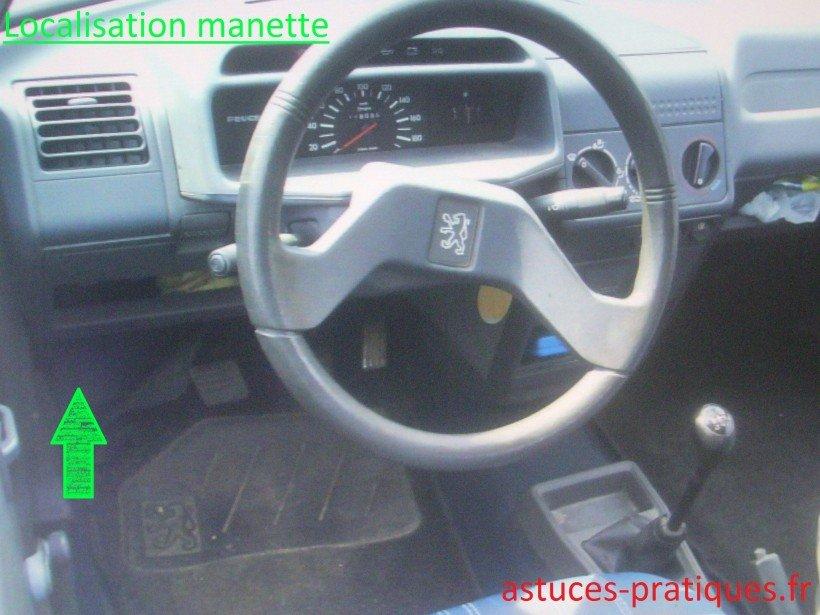 Localisation manette