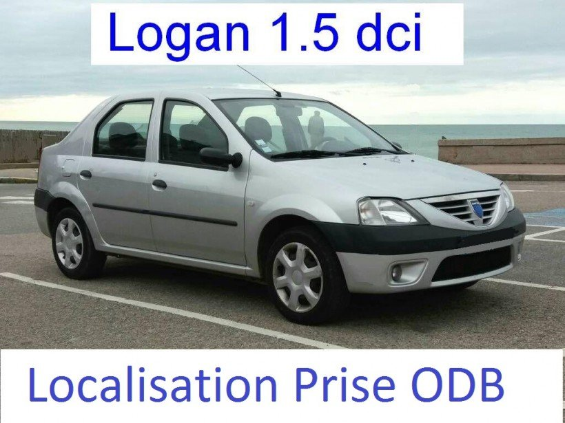 Localiser prise ODB sur Logan