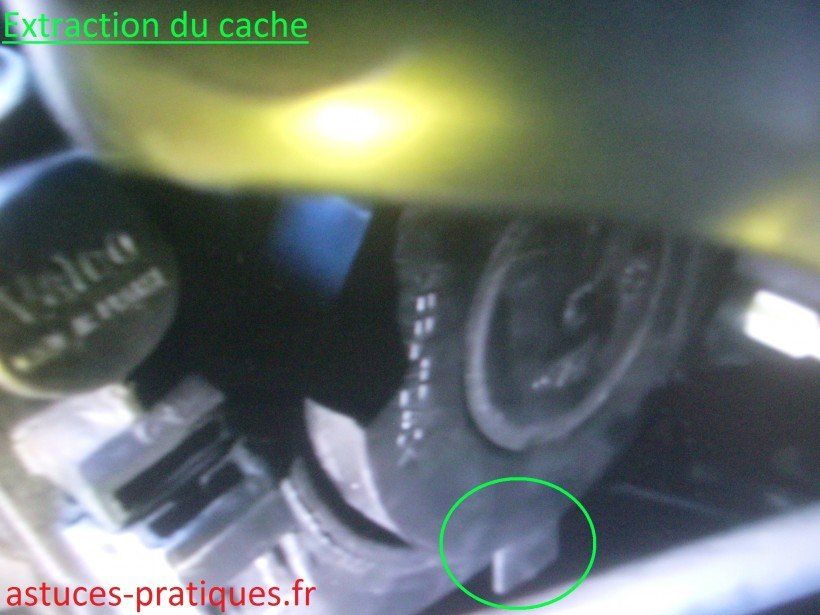 Extraction du cache