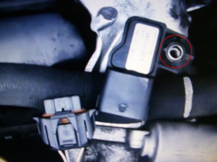 Dépose capteur pression partie 1