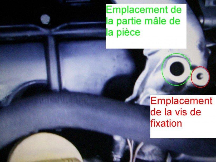 Dépose capteur pression partie 2