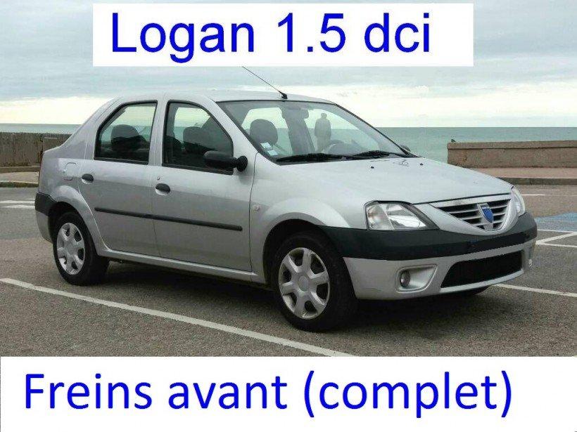 Remplacer disques et plaquettes de freins avant sur Logan