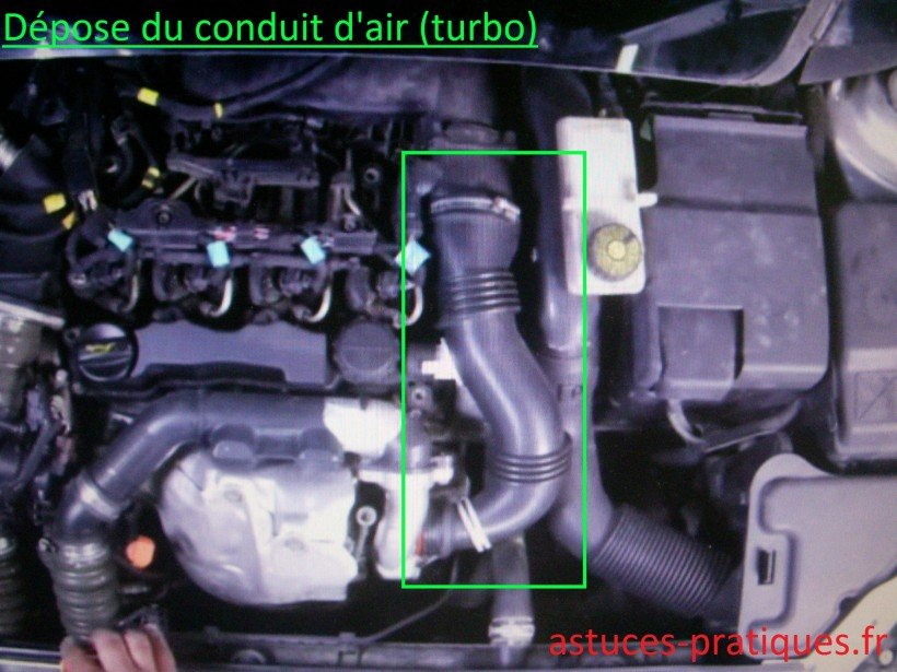 Conduit d'air (turbo)