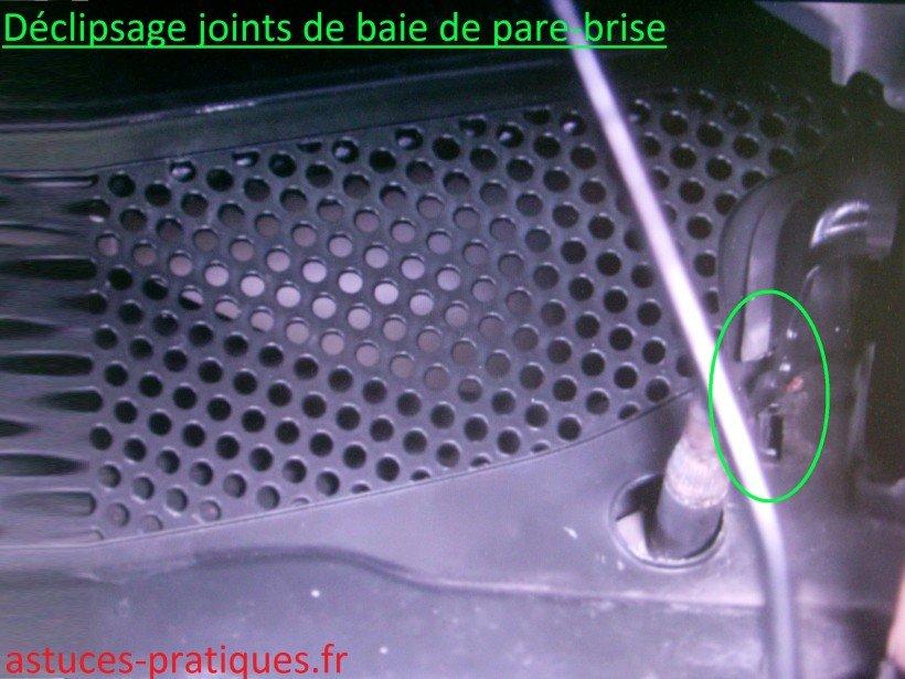 Joints de baie de pare-brise