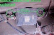 Remplacer filtre à carburant sur Golf 3 (essence)
