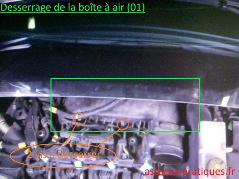 Desserrage boîte à air (01)