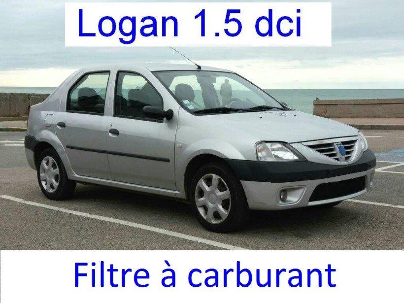 Remplacer filtre à gasoil sur Logan