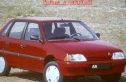 Remplacer la pompe à carburant sur AX (essence)