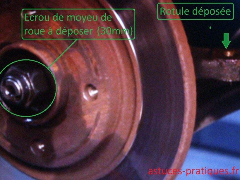 Ecrou de moyeu de roue